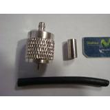 Conector Pl 259 Para Cable Coaxial Rg58 2 Pza.