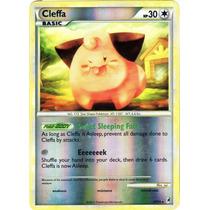Cleffa Rare Pokemon Hgss Call Of Legends Reverse Holo