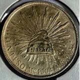 Moneda $1 Peso Mexico 1904 A M Porfirio D Exc Plata Envio