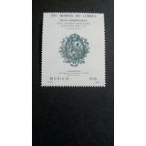 Timbre Postal Dia Mundial Del Correo Mexico 1987 Nuevo