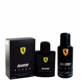 Perfume Ferrari Black 125ml /desod Ferrari Black 150ml Origi