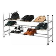 Rack Organizador De Zapatos Botinero Extensible Cromado