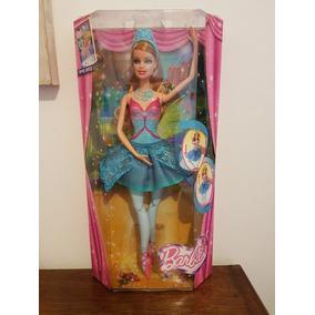 Boneca Barbie E As Sapatilhas Magicas Bailarina Giselle
