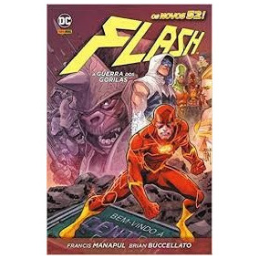Hq Dc Comics Flash A Guerra Dos Gorilas-dl Amazonas
