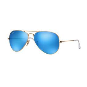 Rayban Aviador Dourado Fosco - Óculos no Mercado Livre Brasil 63ce975e5e