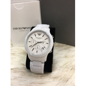 20b37d5bd0b Relógio Masculino Emporio Armani Ar1453 Cerâmica Branco P4. R  320