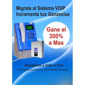 Recargas Voip Telefono Publico 200%ganancia Real