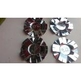 Juego De Copas Cromadas U2 Wheel Mcd8061ya01 Nueva Original