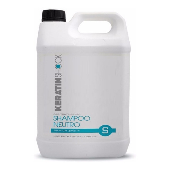 Shampoo Neutro Por 5 Litros Premiun- Ph7 Anti Residuos S/sal
