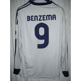 Real Madrid adidas 2012 Bwin #9 Benzema Talle L
