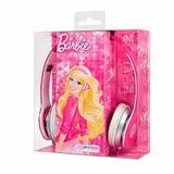 Fone De Ouvido Headphone Barbie Multilaser Rosa