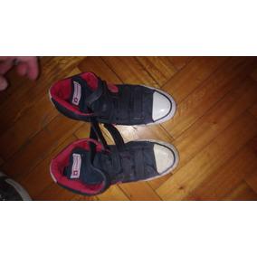 zapatillas converse cuero abrojo