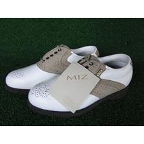 Sapato Mizuno P/ Golf Collection Miz Tam Div Fem Novo Golfe
