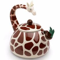 Chaleira Esmaltada Girafa 2,2l - Melhor Preço