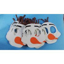 Mascara Olaf Frozen Princesas Souvenirs