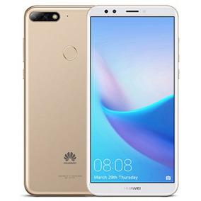 Celular Huawei Y7 2018- Oc- 2/16gb-dual Sim-gold- Oficial