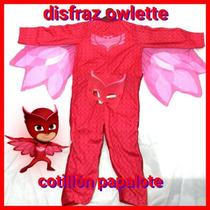 Disfraz Owlette Buhita Pj Masks Heroes En Pijamas Nena Nuevo