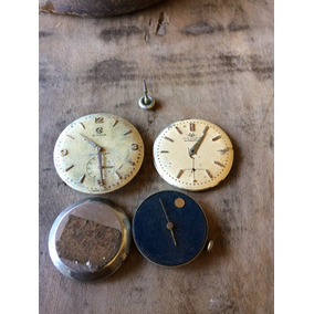 673198cadd6 Sucata Relógio Antigo Cymaflex E Movado! Aproveitamento 147