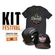 Kit Festival Velopark - Camiseta E Boné