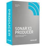 Cakwalk Sonar X3,producer Edition Completo, Frete Grátis
