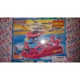 Cogo Blocks Para Armar Helicóptero Y Lancha Nv Xp Lyly Toys