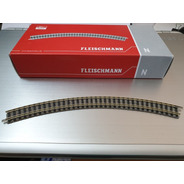 Vìas Fleischmann Escala N 9125 R2 45 Grados.