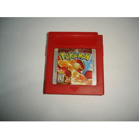 Pokemon Vermelho Red Original Salvando Gameboy Color C02