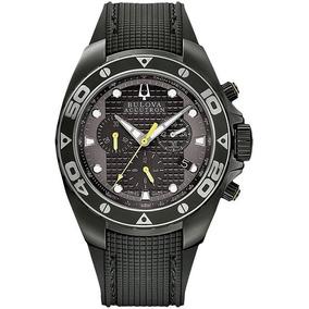 Reloj Bulova 65b139 Accutron 300m Cristal Zafiro
