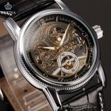 Reloj Orkina Excelente Calidad Automatico Cuero Colores
