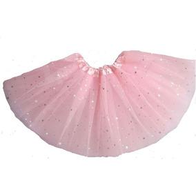 Saia Tule Tutu Infantil Para Festa Ballet Bailarina Fantasia