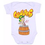 Body Infantil Bebê Chaves Turma Do Chaves Entrega Rápida !!