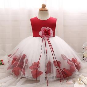 Hermoso Vestido Niña Primavera Elegante Fiesta Moda Flores