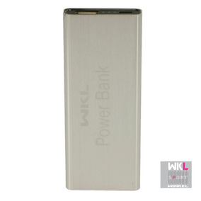 Power Bank Cargador De Emergencia De Celular 4000 Mah Gris