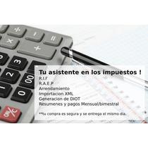 Calculadora De Impuestos 2017 - Rif, Raep Y Arrendamiento Pf