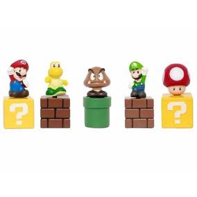 Coleção Super Mario Bros - 5 Miniaturas