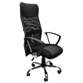 Cadeira Escritório Presidente Em Tela Mesh