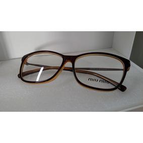 75942669f12d7 Óculos Miu Miu Réplica Vermelha - Óculos Laranja escuro no Mercado ...