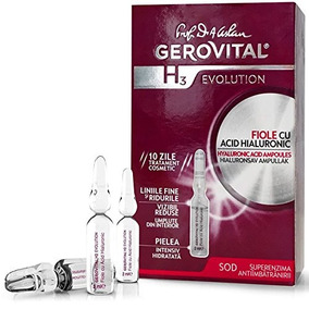 Gerovital H3 Evolution Hyaluronic Acid Ampoules With Supero