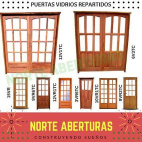 Puertas Doble Vidrios Madera De Seguridad Fabricante