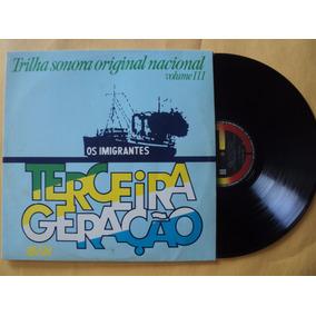 Os Imigrantes- Lp Trilha Sonora Nacional 3- 1982- Zerado!
