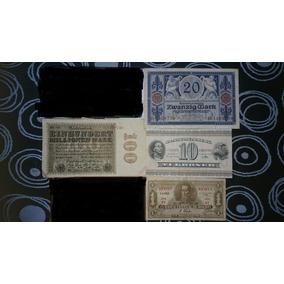 Lote Billetes Mundiales /dinamarca/alemania /zambia /bolivia
