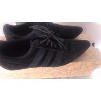 Zapato Negro De Gamuza Neutroni Nuevo D Cajatalla 35