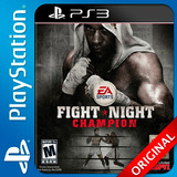 Fight Night Champion Ps3 Digital Oferton Elegi Reputacion C1