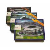 Kit 3 Piezas Rompecabezas 3d Clever & Happy Estadio Futbol