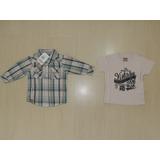 Conjunto Camisa Manga Longa + Camiseta Brandili Mundi. M