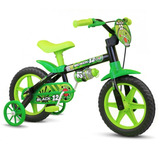 Bicicleta Infantil Nathor Aro 12 Black Menino Masculina