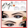 Kit Profissional Molde Sobrancelhas Original Maquiagem Olhos