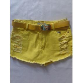 Shorts Saia Com Cinto De Brinde Vgk129.