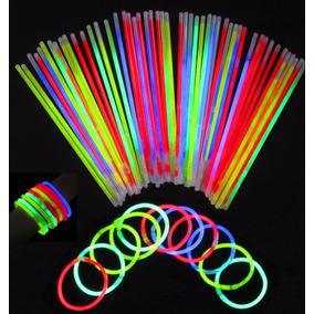 1000 Pulseras Neon Cyalume Glow Batucada Eventos Fiestas