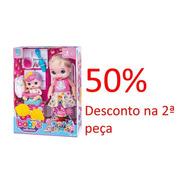 Promoção Boneca Babys Collection Papinha Sapeca 407